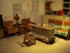 1950\'s home interior, Reform & opening up exhibition, Museum of History, Futian District, Shenzhen, Guangdong Province