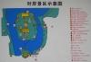 Map of Qionghua Islet area, Beihai Park, Beijing
