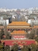 View towards Drum and Bell Towers from Wanchun Pavilion, Jingshan Park, Beijing