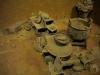Model of ancient tomb in Yin Ruins of Anyang City, Henan Museum, Zhengzhou