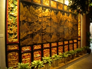 Golden Varnished Woodcarving, Shenzhen Museum of History