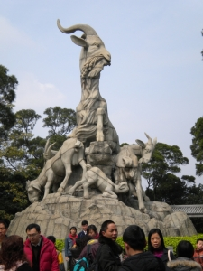 Five Rams Sculpture, Yuexiu Park, Guangzhou