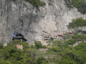 Buddhist Cave Temple and Monk's Cabins