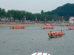 Dragon Boat races, Qin County