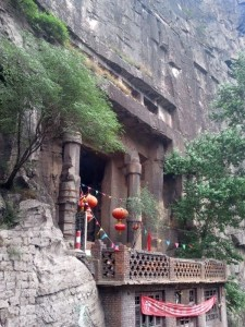 1000-year old cliff temple (Gaohuanyundong)