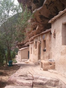 Ancient cliff village, Taiji Grand Canyon